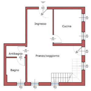 piantina appartamento